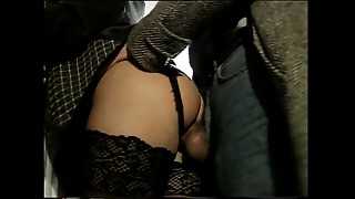 Anal,Big Boobs,Blowjob,Brunette,Lingerie,Natural,Stockings