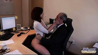 Babe,Blowjob,Cumshot,Fingering,Fucking,Office,Old and young,Secretary,Seduced,Teen