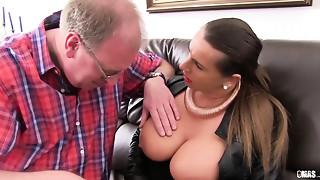 Babe,Big Boobs,Big Cock,Blowjob,Cumshot,Facial,Fucking,Mature,MILF,Old and young