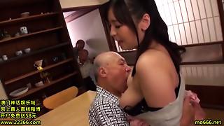 Asian,Big Boobs,Big Cock,Blowjob,Cumshot,Handjob