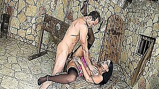 BDSM,Big Ass,Blowjob,Brunette,Casting,Fetish,Glasses,Fucking,High Heels,Latex