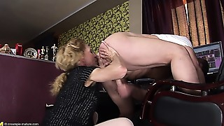 Anal,Grannies,Mature,MILF,Old and young,Stepmom