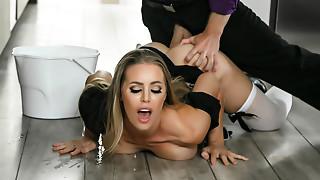 Big Ass,Big Boobs,Blonde,Lingerie,Maid,MILF,Stockings