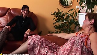 Lesbian,Mature,MILF,Old and young,Petite,Stepmom