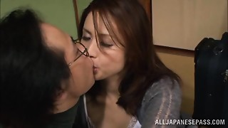 Asian,Blowjob,Cumshot,Fucking,Housewife,MILF,Wife
