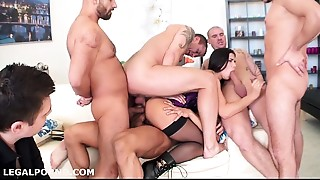 Anal,Ass to Mouth,Blowjob,Cuckold,Double Penetration,Gaping,Fucking