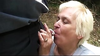 Chubby,Couple,Grannies,Mature,MILF,Old and young,Outdoor,Stepmom,Teen,Threesome