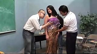 Beautiful,Big Ass,Big Boobs,Indian,School,Threesome