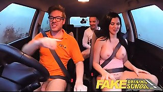 Big Ass,Big Boobs,Blowjob,Car Sex,Creampie,Cumshot,Double Penetration,Fake,Glasses,Group Sex
