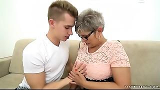 Big Cock,Blowjob,Grannies,Mature,MILF,Old and young,Orgasm,Stepmom,Teen