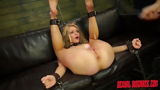 BDSM,Big Boobs,Blonde,Extreme,Fetish,Fucking,Petite,Pornstar,Teen