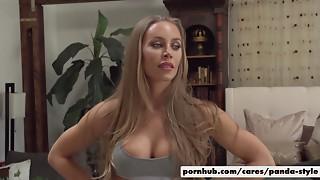 Big Boobs,Big Cock,Blonde,Blowjob,Doggystyle,Facial,Pornstar,Public Nudity