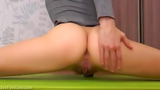Amateur,Blonde,Flexible,Gym,Hairy,Masturbation,Pornstar,Russian,Teen