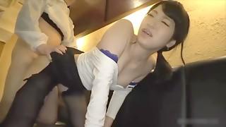 Amateur,Asian,Big Boobs,Brunette,Close-up,Couple,Doggystyle,Fucking
