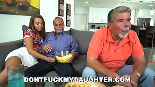 Brunette,Daddy,Daughter,Fucking,Pornstar,Sleeping,Small Tits,Teen