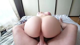 Amateur,BBW,Big Ass,Big Boobs,Blonde,Close-up,Creampie,Cumshot,Doggystyle,Fucking