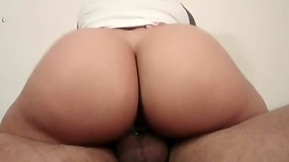 Amateur,Big Ass,Big Cock,Brunette,Cumshot,Latina,POV,Teen
