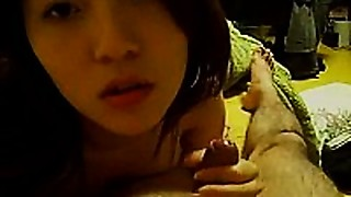 Amateur,Asian,Blowjob,Couple,Fucking