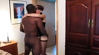 Big Cock,Interracial,Masked,Wife